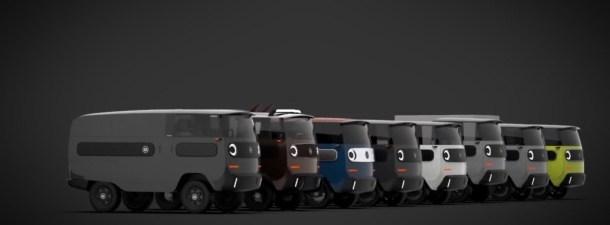 eBussy, el nuevo vehículo eléctrico que podrás modificar a tu gusto