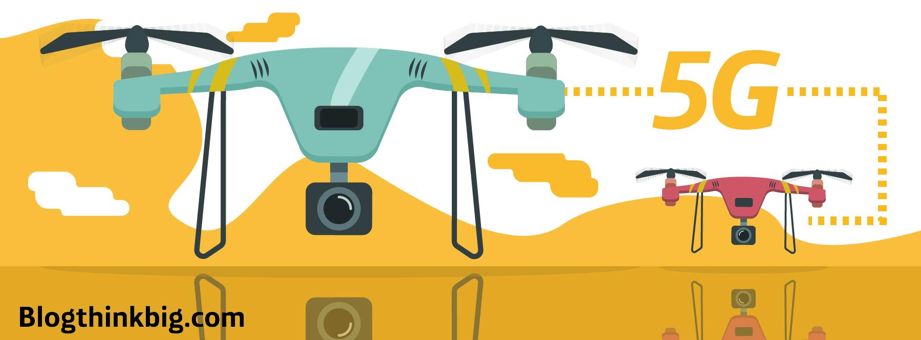 Lo que el 5G significa para los drones