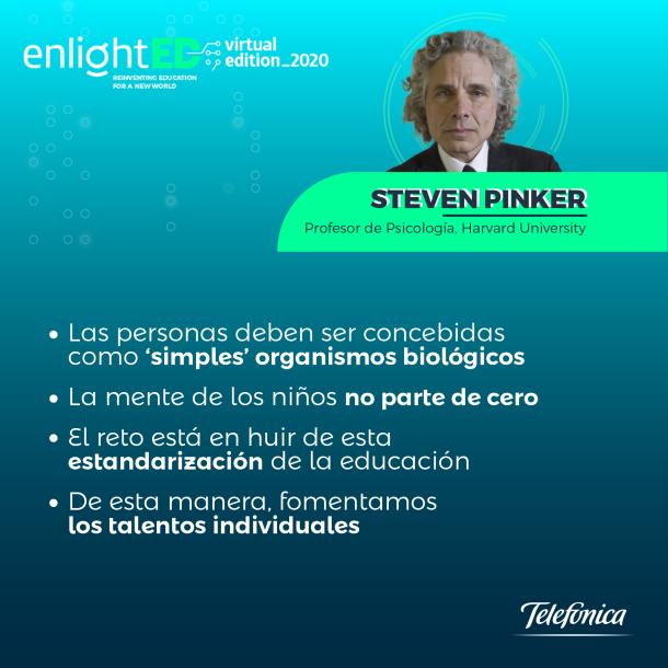Steven Pinker ficha