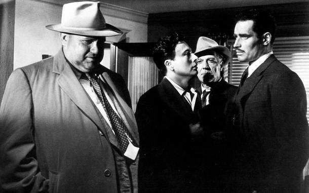 Sed de mal, Orson Welles