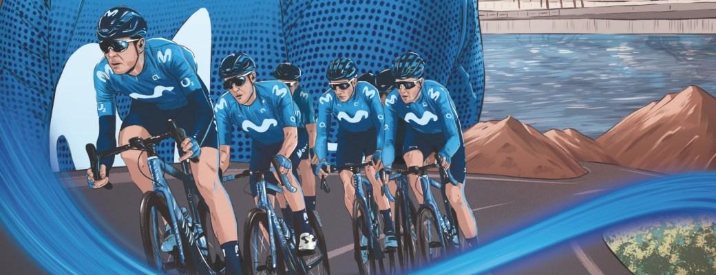 La Vuelta ilustraciones