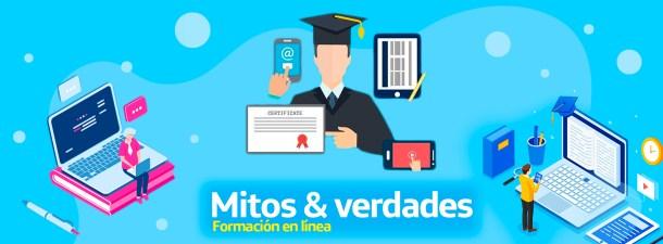 Formación en línea: 2 mitos y la realidad de sus beneficios