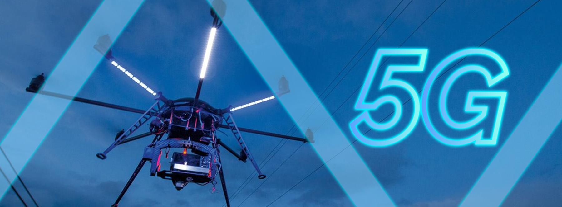 Drones con cámara y 5G: una solución para vigilar cultivos