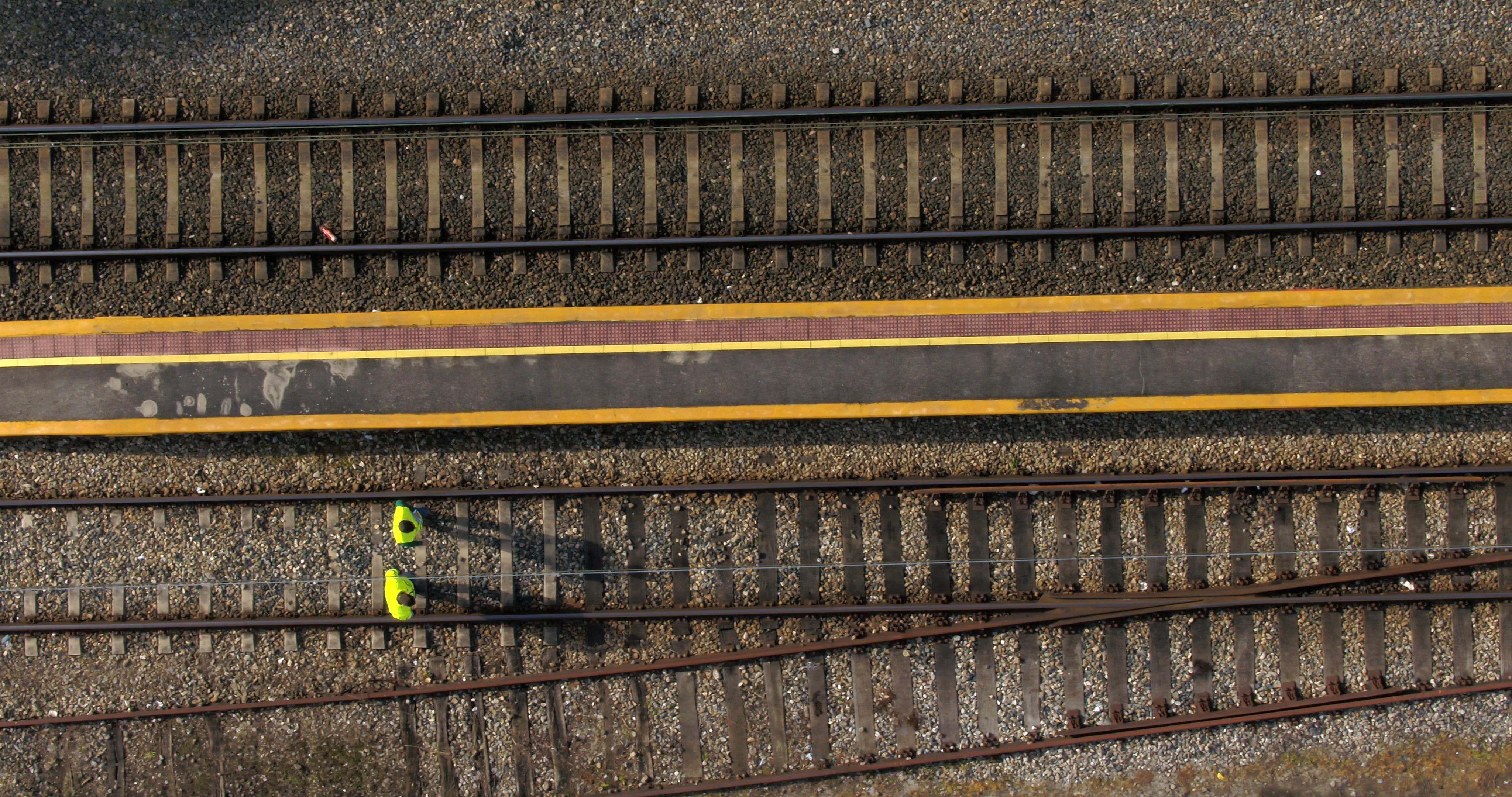 Drones 5G: nuestros ojos en las vías
