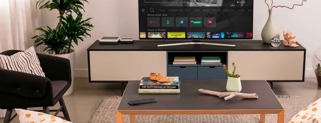 Distancia TV 4K, control parental