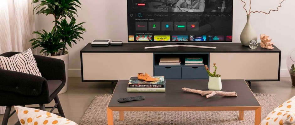 ¿A qué distancia debes poner tu TV 4K para obtener la mejor experiencia de Movistar+?