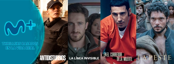 5 thrillers originales de Movistar+ basados en la vida real