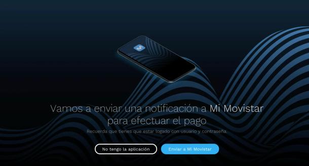 Noticificación en la App móvil Mi Movistar al comprar en Movistar+