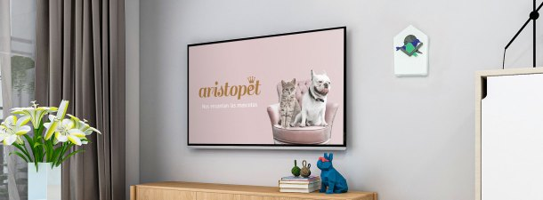 Cómo comprar accesorios para tus mascotas desde la televisión gracias a la Living App de Aristopet