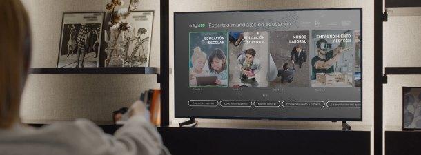 Living App EnlightED: cómo aprender de los mejores expertos en educación desde tu televisión