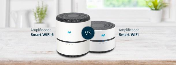 Diferencias entre el Amplificador Smart WiFi y el Amplificador Smart WiFi 6