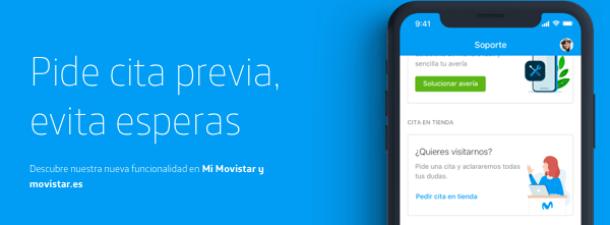 Cómo hacer una reserva de cita previa en las tiendas de Movistar