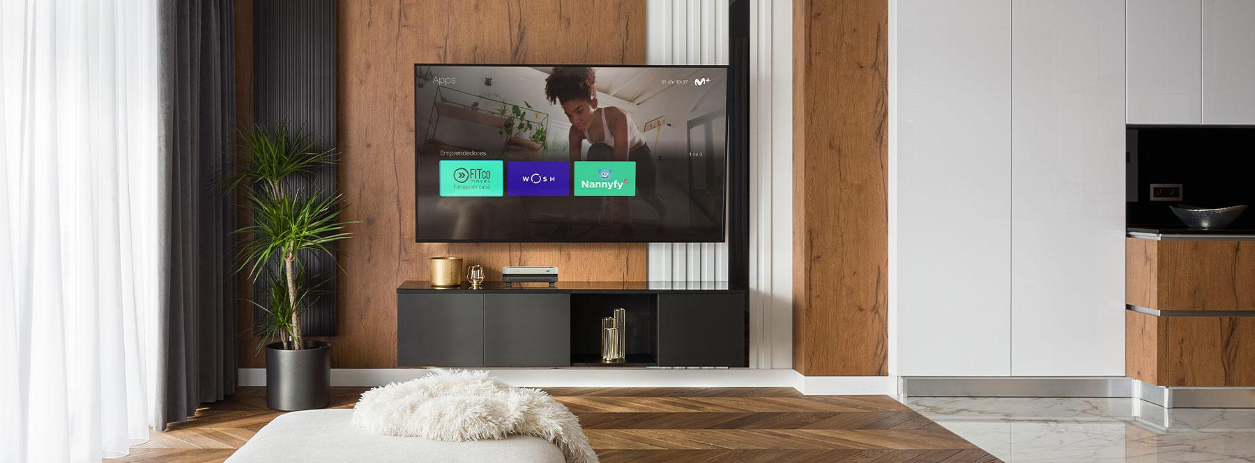 Living Apps de 'Emprendedores': haz la colada, entretén a los niños o ponte en forma desde la televisión