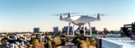 Drones urbanos, uno ojos aéreos 5G para controlar el tráfico