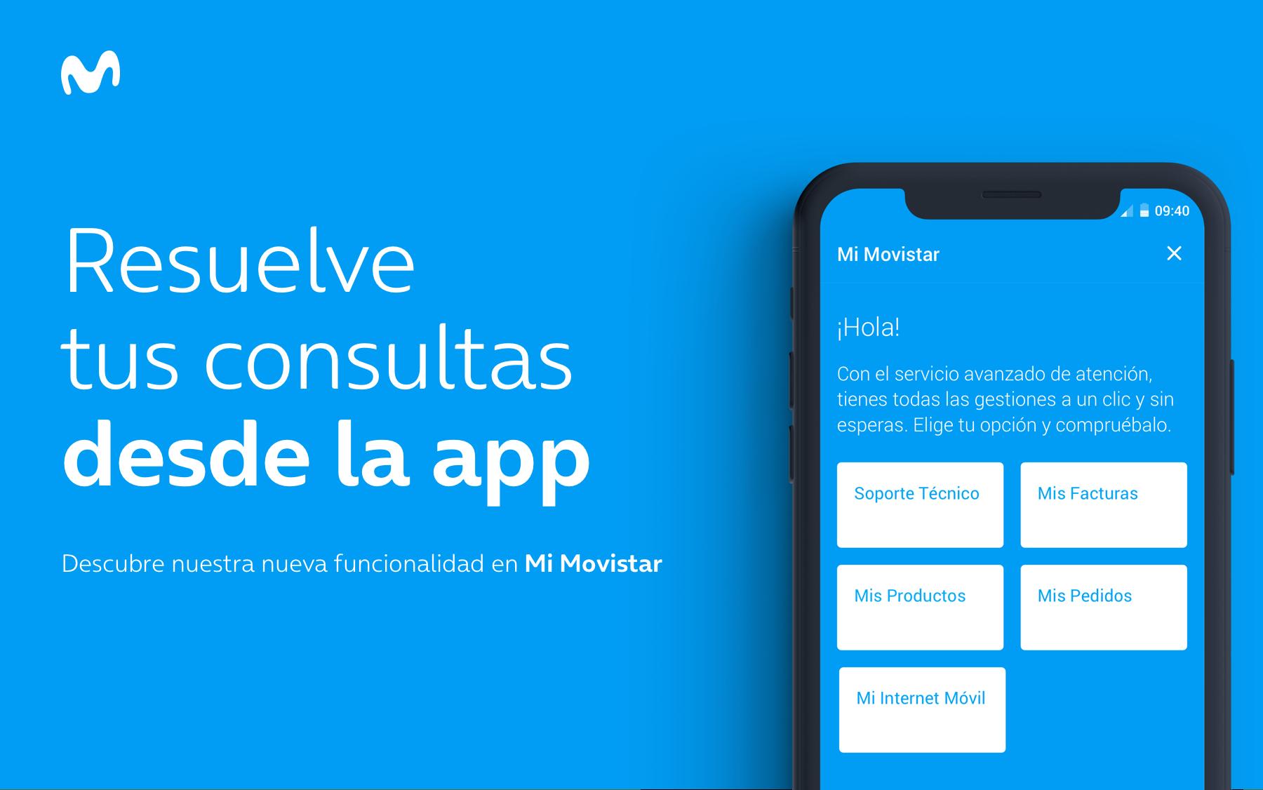 Visual IVR, la solución digital del call center: comienza tu consulta llamando al 1004/1002 y resuélvela desde la app Mi Movistar