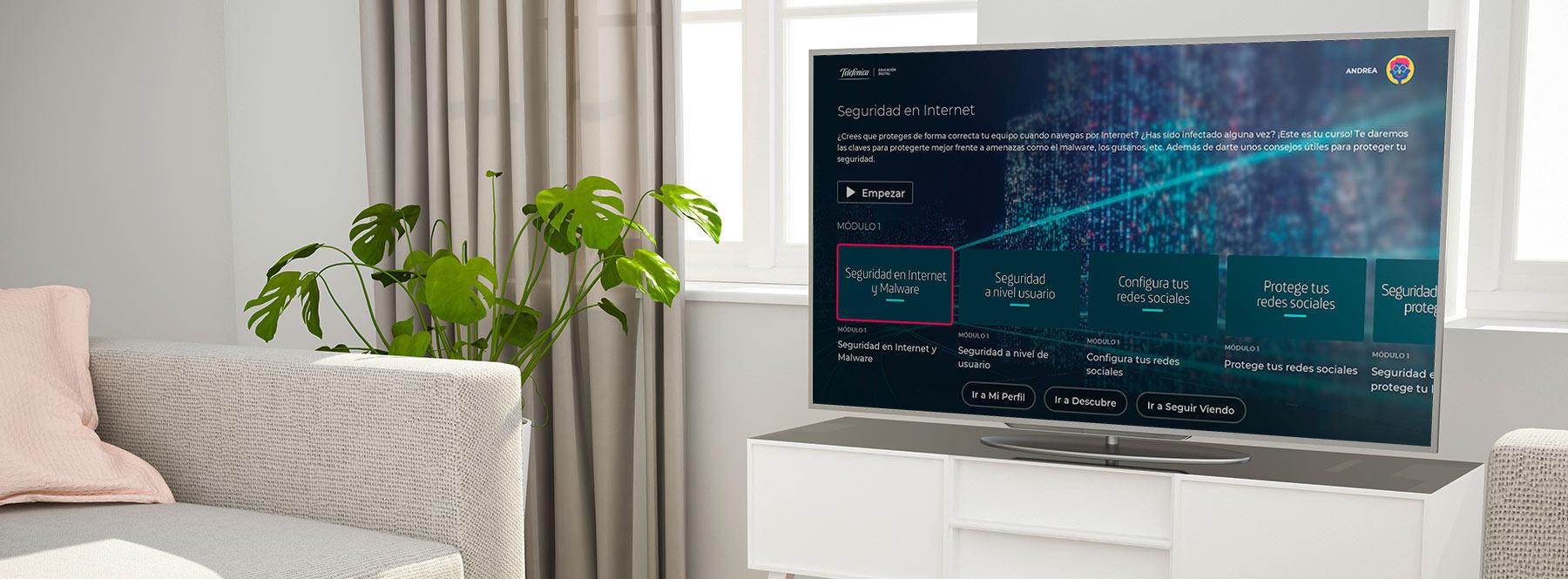 Telefónica Educación Digital: cómo acceder a formación online desde la televisión