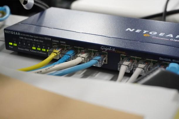 Qué es un hub - Switch ethernet