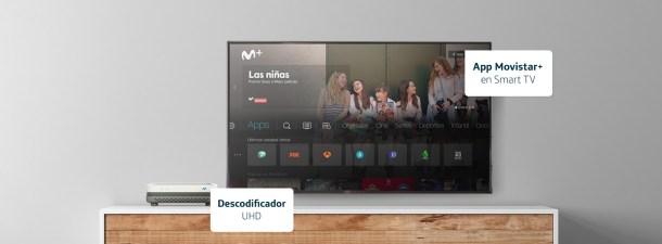 Cómo saber si estoy viendo Movistar+ a través del descodificador o la app para Smart TV y dispositivos HDMI
