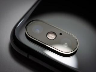 Imagen de un smartphone en la parte posterior