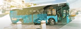 Autobuses con televisión 4K de Movistar+ gracias al 5G