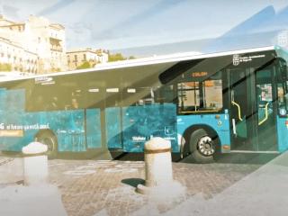autobus con tv 4k