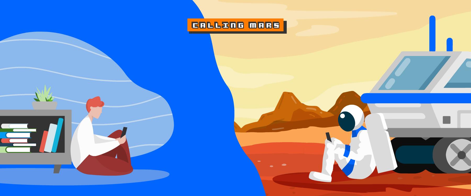 Tierra llamando a Marte: así funcionan las comunicaciones en la conquista espacial