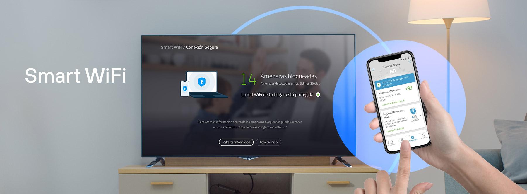 Cómo activar Conexión Segura en la Living App y app móvil de Smart WiFi