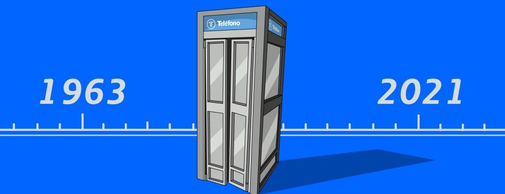 primera cabina telefónica