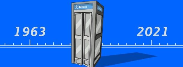 De la primera a la última cabina telefónica en España: un recorrido por la historia y la tecnología