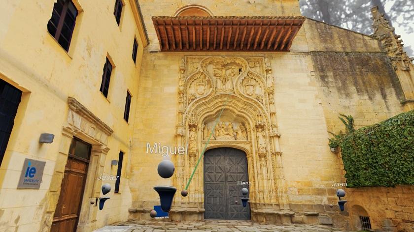 IE Segovia: una experiencia pionera con 5G y RV para la enseñanza