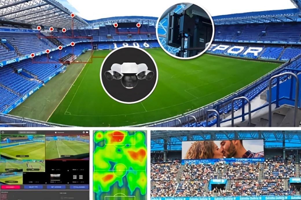 equipamiento 5G - cobertura 5G - Estadio de Riazor