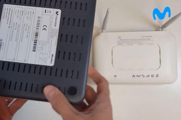 Router, Router Movistar, tipo de router
