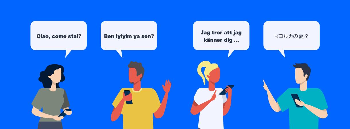 El 5G te permitirá traducir simultáneamente todo lo que digas y escuches en tiempo real