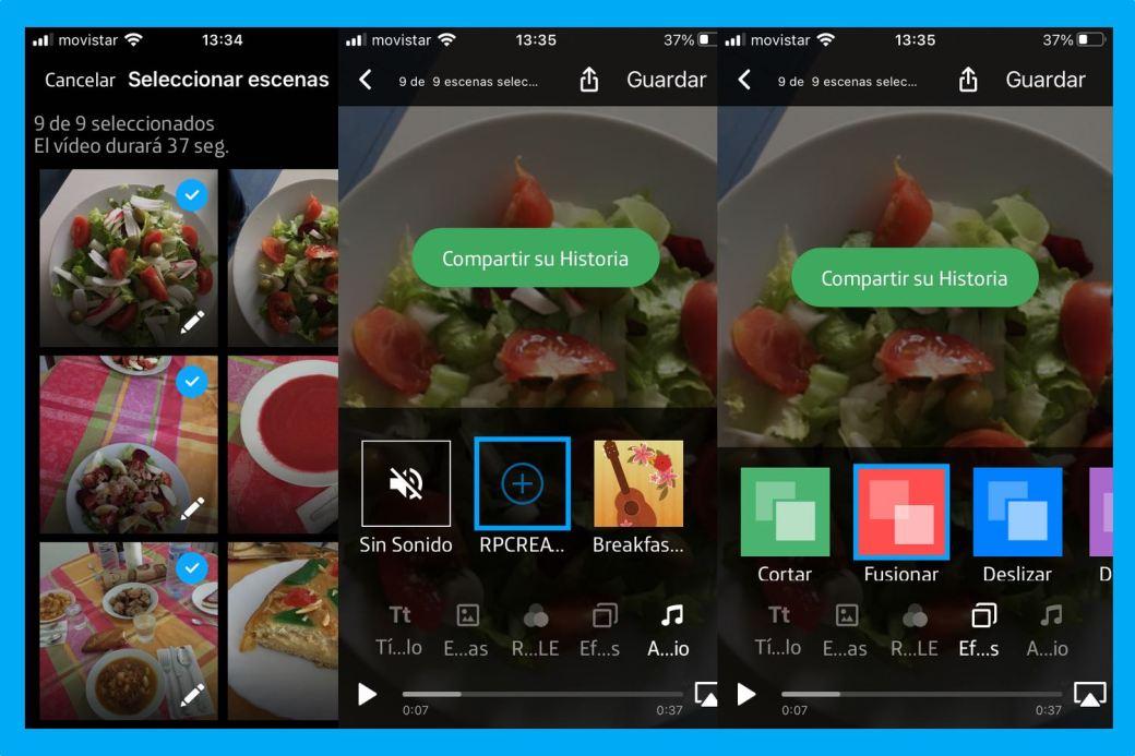 editar videos - como editar videos - Movistar Cloud
