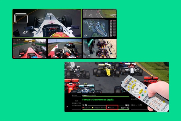 Where to see Formula 1