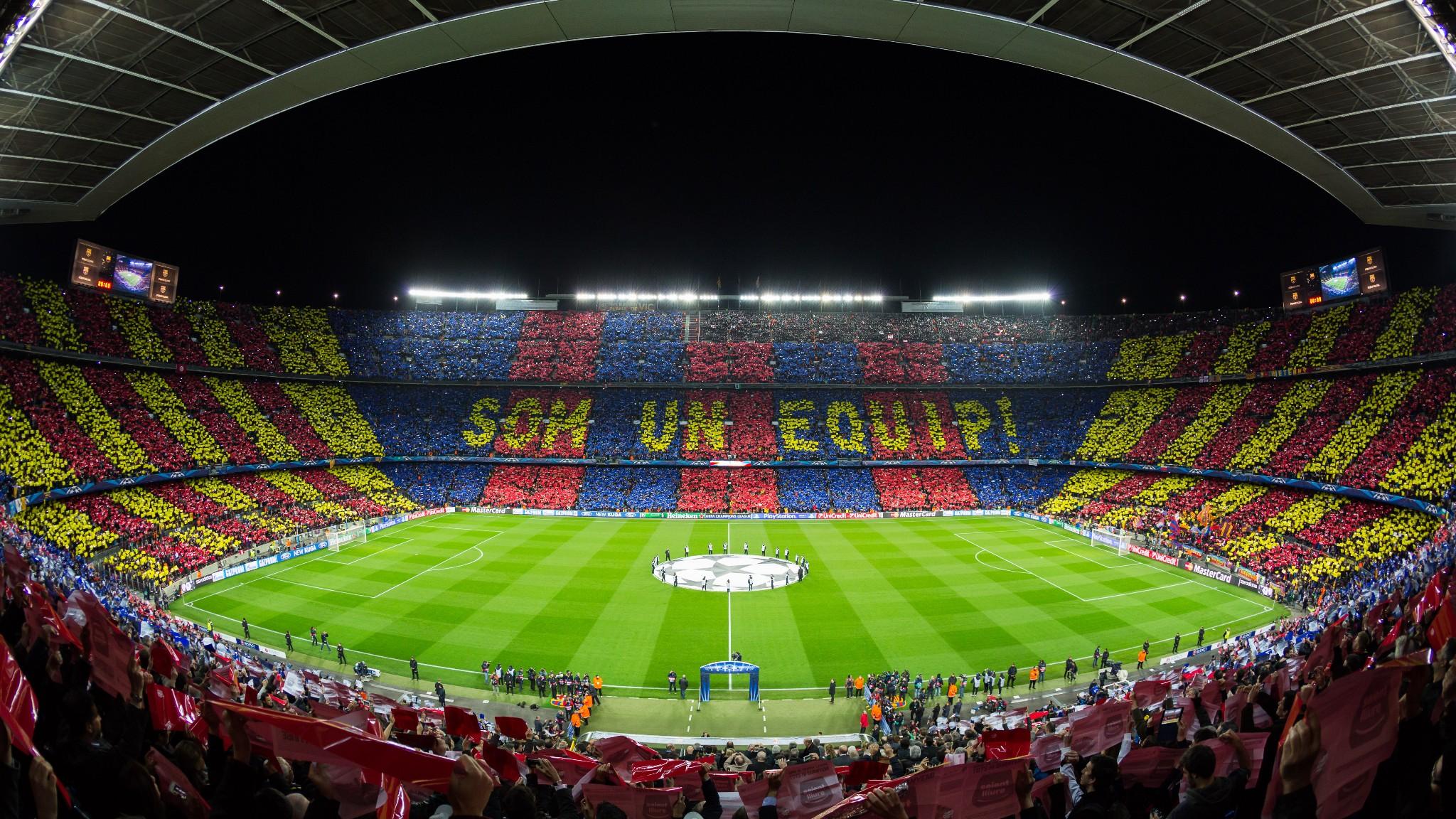 Fútbol 5G, así se despliega la mayor cobertura para un estadio