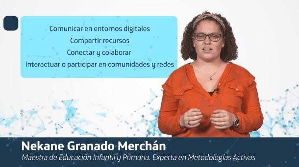 Teacher of the Conecta Empleo courses
