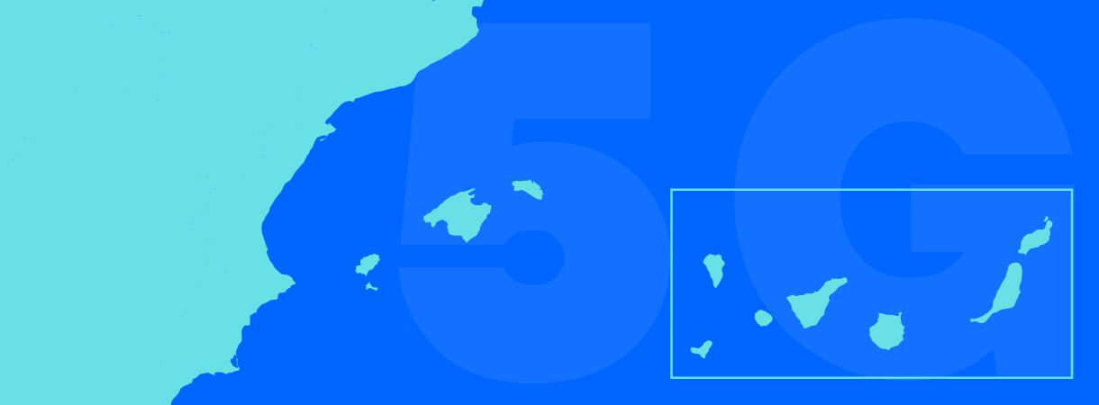 Despliegue del 5G insular: el reto de conectar a las islas