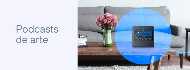 Aprende de forma sencilla con los podcasts de arte de Movistar Home