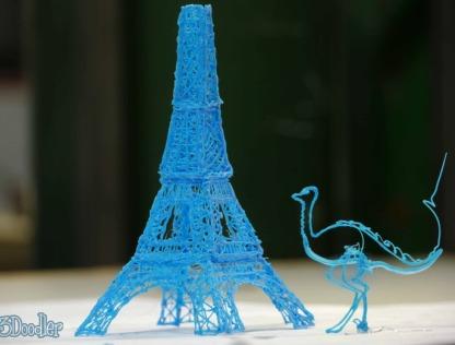 3Doodler, un bolígrafo para dibujar objetos físicos