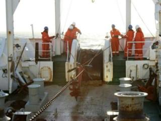 Cable submarino reparacion