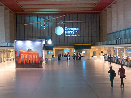 Campus Party Europe – Berlín – Día 1