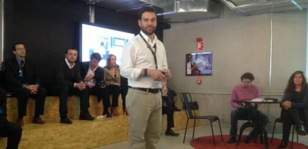 """Gonzalo Martin-Villa en la presentación de """"El perfil humano y profesional de los emprendedores digitales"""""""