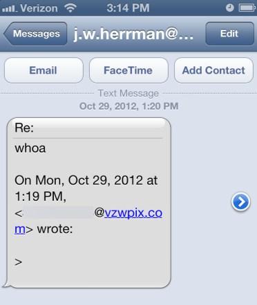 Acceder al email con SMS