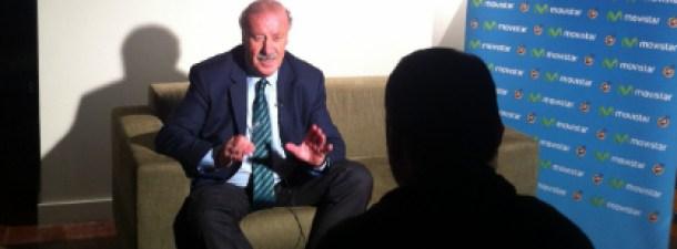 Entrevista a Vicente del Bosque: mejor entrenador del año