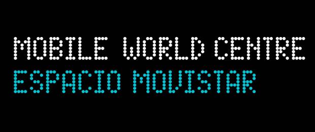 Logo Mobile World Centre Espacio Movistar
