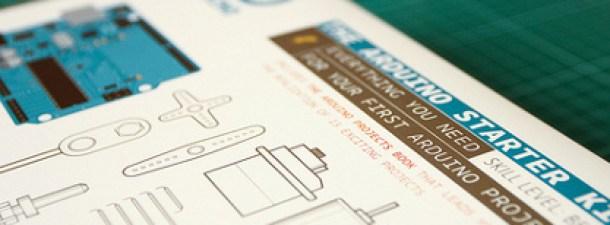 El primer kit Arduino, código libre para todos