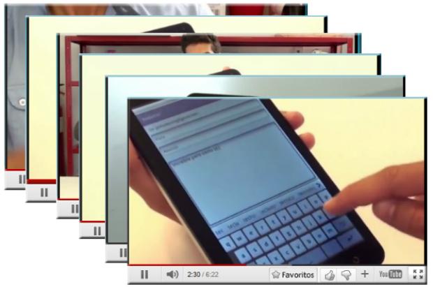Muchos videos del canal de unboxing de Movistar