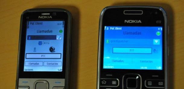 Pulsa y Habla: un nuevo servicio para tu teléfono como si fuera un walkie-talkie