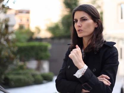 Rebeca Minguela, CEO y cofundadora de Blink Booking, en Start Up Spain 3.0